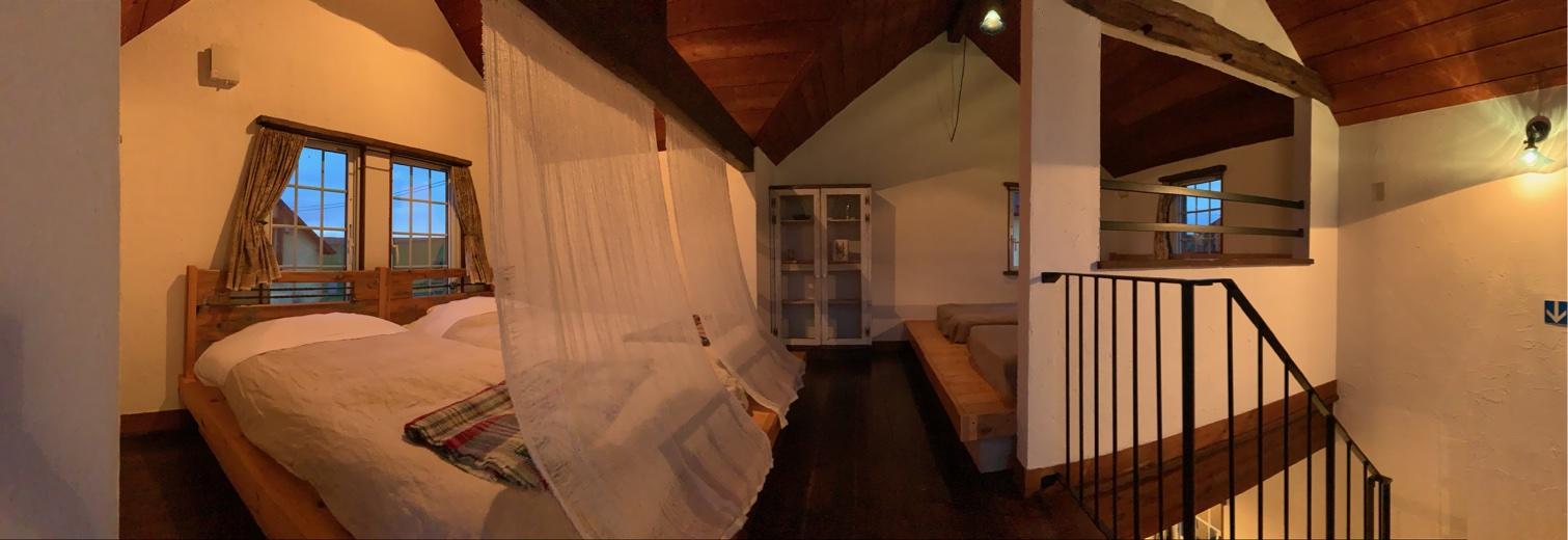 スプウン谷のザワザワ村客室2階