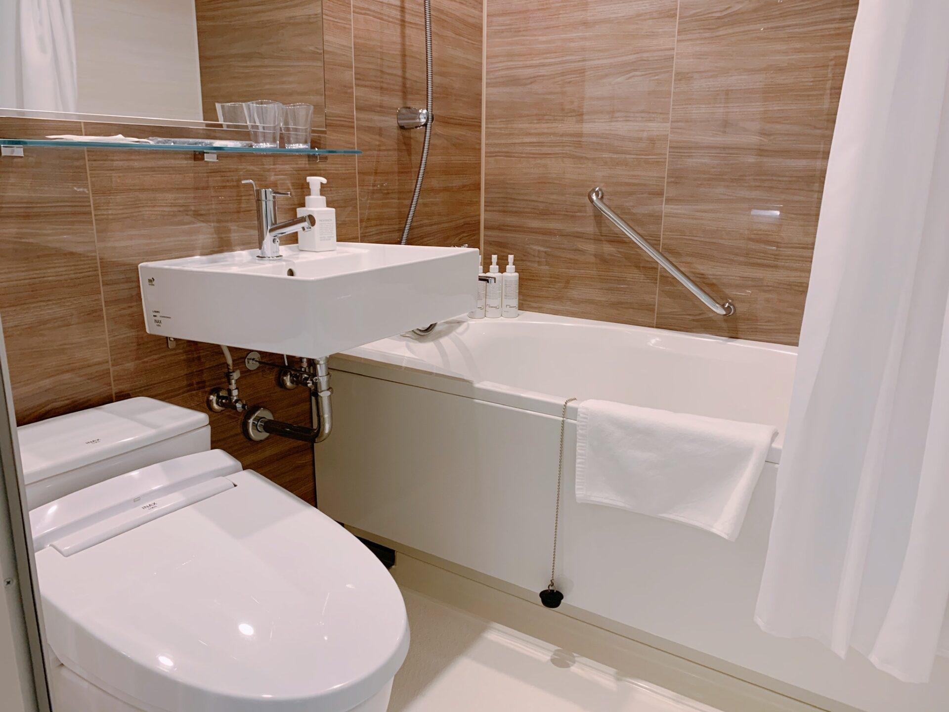 ビスポークホテル札幌 バスルーム