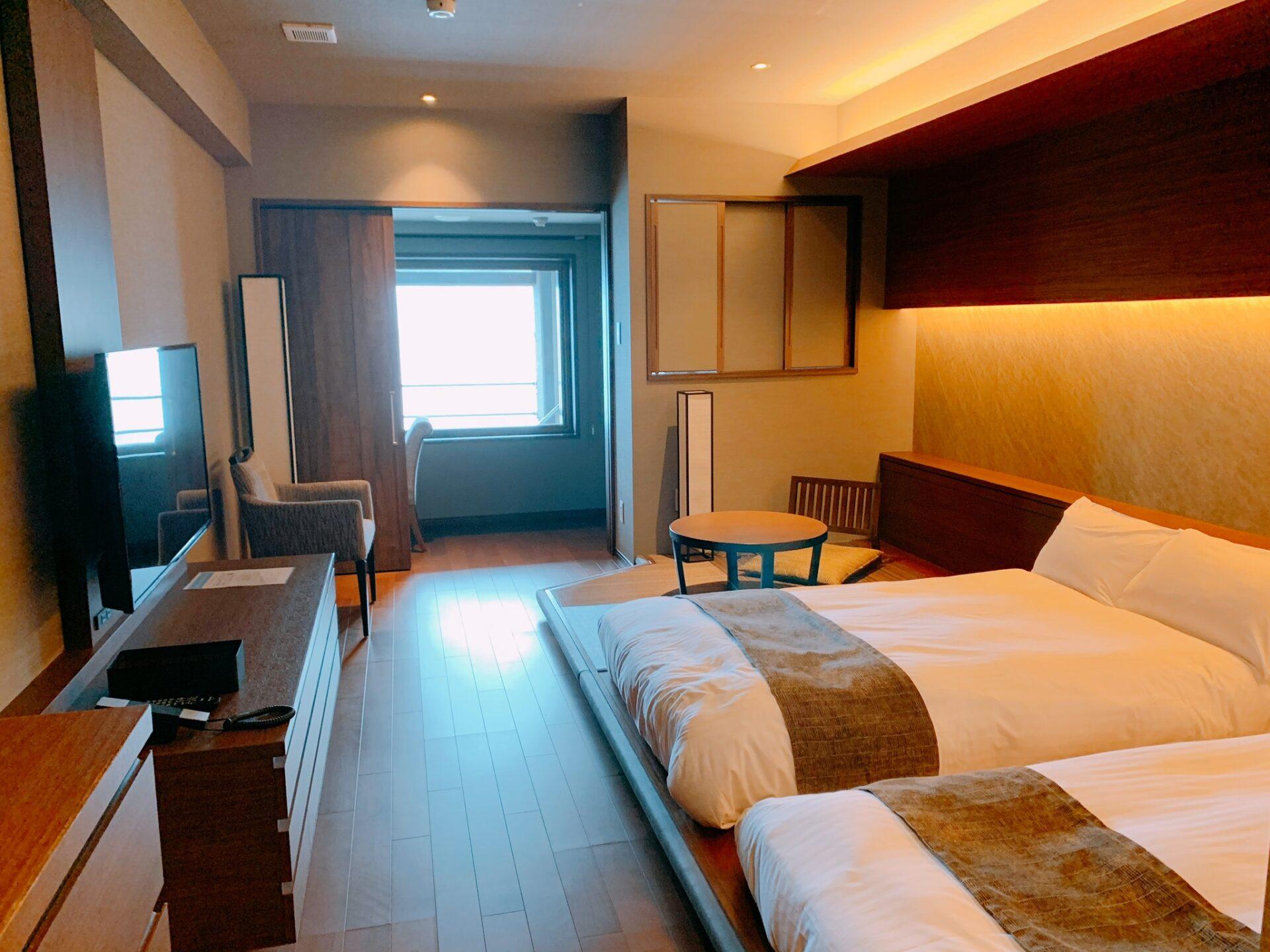 湯の川プリンスホテル渚亭の客室