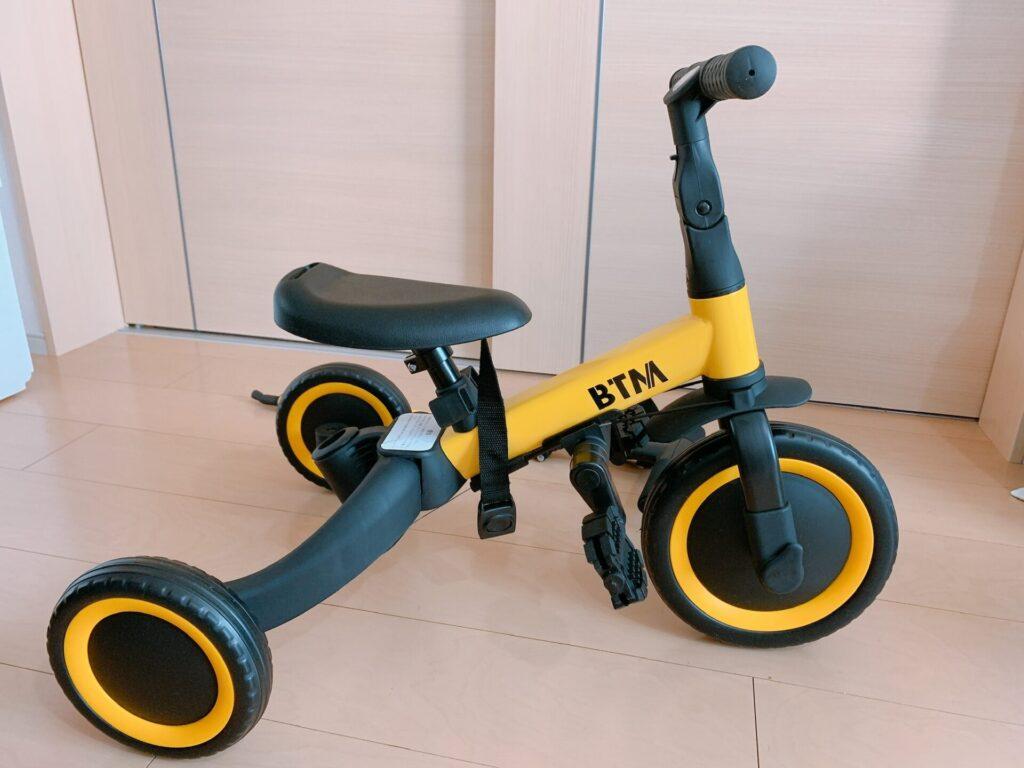BTM 三輪車 バランスバイク