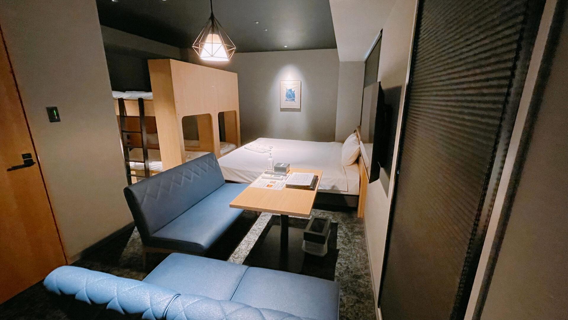 ALPHABED INN札幌大通公園 客室全体