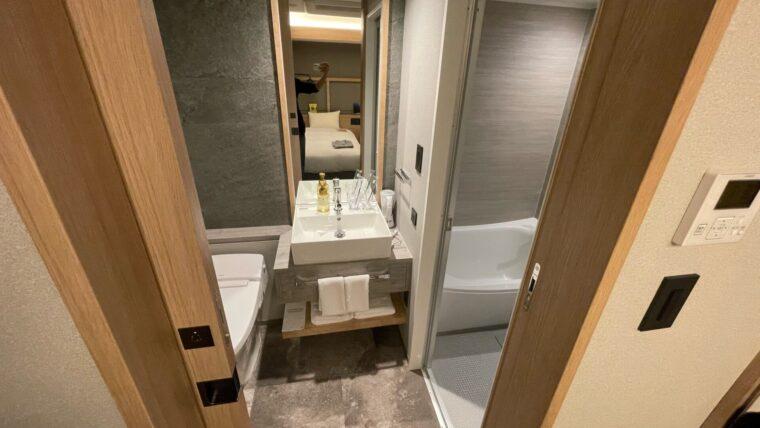 ランプライトブックスホテル札幌 客室 トイレ