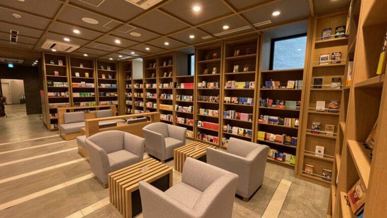 ランプライトブックスホテル札幌 1階